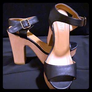 Black Summer Heels